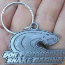"DON PRUDHOMME COPENHAGEN SNAKE RACING KEY CHAIN  PEWTER COLOR ""NEW/UNUSED"""