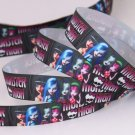 Monster High Printed Grosgrain Ribbon/DIY Hair Bows/3 YARDS