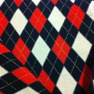 Black and Red Crepe Knit Fabric - By the yard Sewing Supplies
