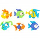 Something Fishy Novelty Buttons - Plastic Buttons
