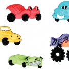 Cars Novelty Buttons - Plastic Buttons Sewing Supplies