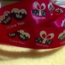 Endles Love on Red Satin Ribbon - DIY