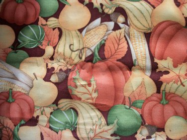 BTY Great Harvest Cotton Fabric - By the Yard Sewing Craft Supplies