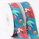Disney Princess Ariel Printed Grosgrain Ribbon/Craft Supplies/DIY/5YARDS