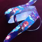 "Disney Frozen  Princess Anna Party Dress Grosgrain Ribbon/1""width /DIY Hair Bow /Craft Supplies"