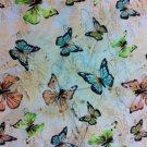 Ferns & Butterflies Cotton Fabric - Sewing Supplies