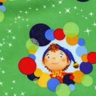 Noddy Circles & Stars Cotton Fabric - FQ Sewing craft supplies