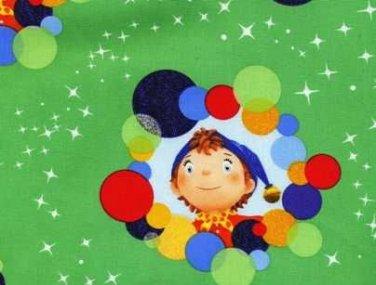 Noddy Circles & Stars Cotton Fabric - FQ Sewing craft supplies