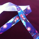 "Disney Frozen  Princess Anna Party Dress Grosgrain Ribbon/1""width/DIY Hair Bow/3 YARDS"