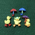 Cute Baby Duckling/Novelty Buttons/Dress it up/Sewing craft Supplies