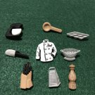 Master Chef Novelty Plastic Buttons/Sewing & Craft Supplies?Dress it up