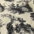 BTY Park Walk Classic Toile Cotton Fabric/By the Yard Sewing supplies