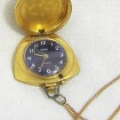RUSSIAN VINTAGE ZARIA GOLD PLATED LADIES PENDANT WATCH