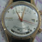 OLYMPIA CALENDAR ORIENT MEN'S LARGE WATCH