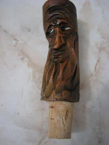 TROLL SPIRIT TREE OF POCAHONTAS GRANDMOTHER WOOD CORK