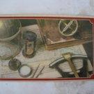 HAND MADE ZIM HAIFA OLIVE WOOD CASE ISRAEL by A. KLEIN