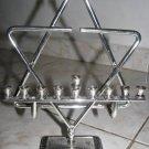 """STAR OF DAVID"" HANUKKAH LAMP BY AMY ISRAEL"
