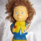 Painter Tubik / Tube VINTAGE HAIRED RUBBER RUSSIAN DOLL