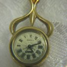 Vintage CHAIKA Gold plated Art Deco Mechanical Pendant Watch USSR