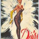 LINE RENAUD PROSPECT MAGAZINE CASINO AT PARIS 1950'S
