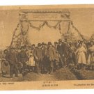 KKL TU B'SHVAT CELEBRATION JERUSALEM GERMAN PC 1900'S