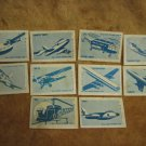 IDF Air Force Match Box Labels Israel 1950-60's~ Rare!