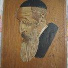 Portrait of Jewish Man ~ Signed Gergeli, Israel