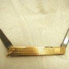 ECCO Gold filled folding knife ~ Vintage