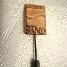 JEAN-PIERRE SAND Perfume Gold tone Pin ~ Rare