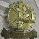 TA'AS Military Industry Haganah IDF Hat Badge Palestine Eretz-Israel 1940 RARE