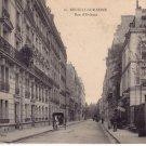 1909 Neuilly sur Seine - Rue d'Orleans PC FRANCE-POLAND