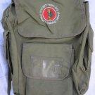 ZAHAL OFFICER'S TRAINING SCHOOL BAHAD 1 ISRAEL IDF ARMY BAG~EMBROIDERED LOGO