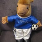 "CAMEL ~ Israeli Soccer Player Doll Israel 13"" tall"