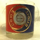 VINTAGE RUSSIAN SOUZ APOLLO COSMOS SPACE MISSION GLASS CUP WITH LENS