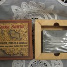 TERRA SANTA Pure Olive Oil Soap with Ancient Galilee Map 3.3 oz Israel
