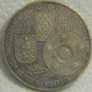 Borussia Mönchengladbach Football Sterling Silver Medal 1970/1971 Germany
