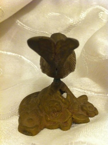 VINTAGE EMBOSSED BRONZE BIRD ISRAEL