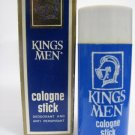 VINTAGE KINGS MEN COLOGNE STICK for IDF ZAHAL SOLDIERS ISRAEL