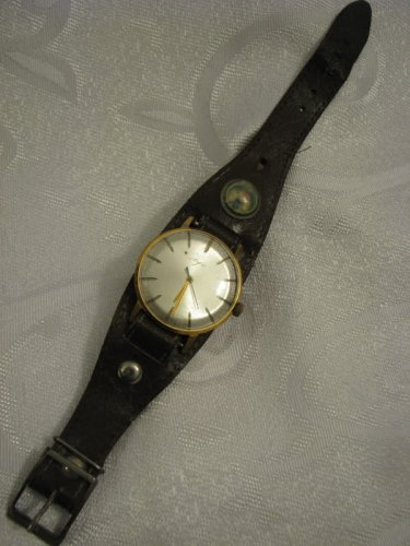 Vintage LUCH Gold Filled Mechanical Men's Watch
