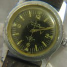 Very Retro DUXOT 17J Mens Watch Swiss ~ Black dial