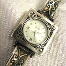 ARTISAN 925 STERLING SILVER WATCH, ISRAEL ~ SIGNED