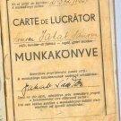 DENTIST EXPERT CERTIFICATE ROMANIA 1945 *REVENUES*