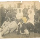 BULGARIAN HOSPITAL NURSES & WOUNDED SOLDIERS PHOTO WWI