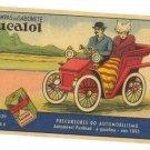 RARE PANHRAD EUCALOL SOAP ADVERTISEMENT CARD BRAZIL