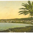 HAIFA BAY PALESTINE POSTCARD JUDAICA 1927