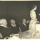 SARAH CHURCHILL & BEN GURION AT TECHNION HAIFA 1958