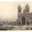 """""""THE CATHEDRAL OF MARSEILLE"""" PHOTO POSTCARD FRANCE"""