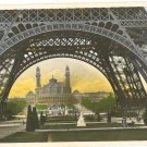BEAUTIFUL EIFFEL TOWER PARIS COLOR POSTCARD FRANCE