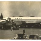 EARLY EL AL PLANE BOEING 707 REAL PHOTO PC 1950'S