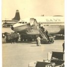 EL AL PLANE AIRPORT BOEING 707 REAL PHOTO PC 1950'S